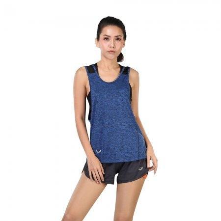 เสื้อแขนกุด รหัสสินค้า:028378(สีน้ำเงิน)