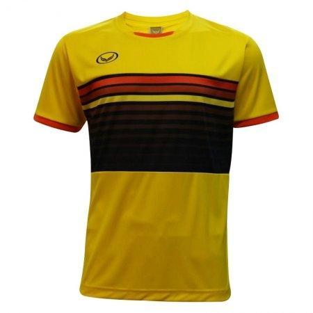 เสื้อกีฬาฟุตบอลแกรนด์สปอร์ต (สีเหลือง) รหัส:011E01