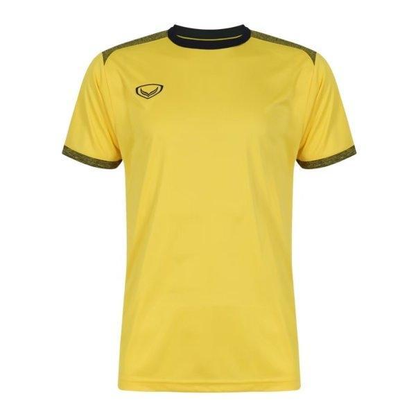 เสื้อกีฬาฟุตบอลตัดต่อรหัส: 011472 (สีเหลือง)