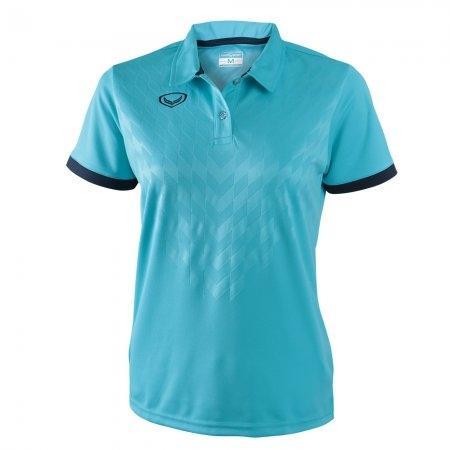 เสื้อโปโลหญิงแกรนด์สปอร์ต (สีฟ้า)รหัสสินค้า : 012761