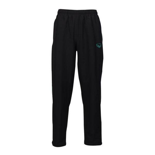 กางเกงแทร็คสูทแกรนด์สปอร์ต (สีดำเขียวอ่อน) รหัส: 010209