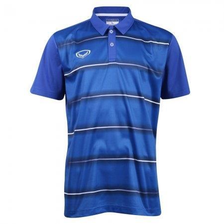 เสื้อโปโลแกรนด์สปอร์ต (สีน้ำเงิน)  รหัส: 072036