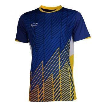 เสื้อประตูฟุตบอล แขนสั้น แกรนด์สปอร์ต รหัสสินค้า : 018094 (สีน้ำเงิน)