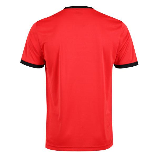 เสื้อกีฬาฟุตบอลพิมพ์ลาย  รหัส :011549 (สีแดง)