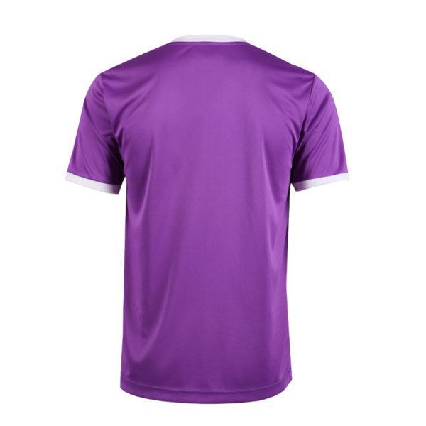 เสื้อกีฬาฟุตบอลพิมพ์ลาย  รหัส :011549 (สีม่วง)