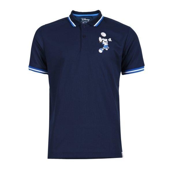 เสื้อโปโลชายปัก Mickey รหัส : 621014 (สีกรม)