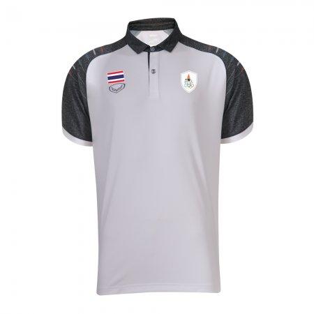 เสื้อโปโลทีมชาติไทย เอเชียนเกมส์ 2018(สีขาว) รหัส :012235