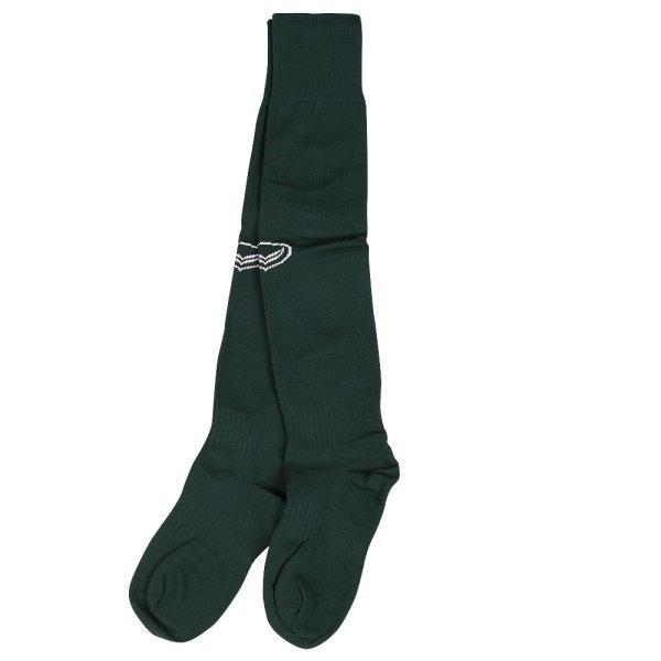 ถุงเท้าฟุตบอลสีล้วน รหัส :025090 (สีเขียว)