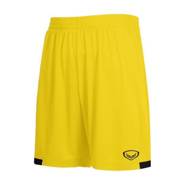 กางเกงกีฬาฟุตบอลตัดต่อ แกรนด์สปอร์ต รหัสสินค้า:001481  (สีเหลือง)