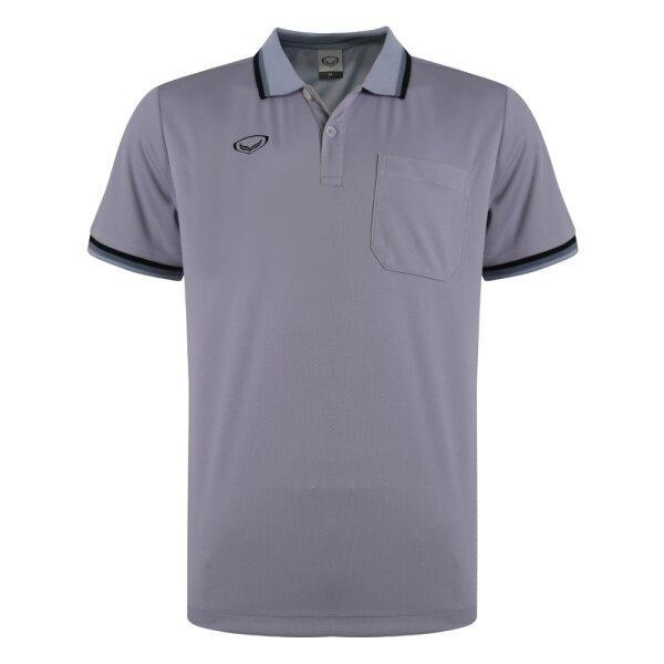 เสื้อโปโลชายแกรนด์สปอร์ต รหัส :012588 (สีเทา)