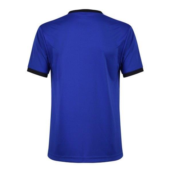 แกรนด์สปอร์ตเสื้อกีฬาฟุตบอล รหัสสินค้า : 011464 (สีน้ำเงิน)