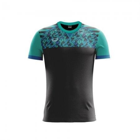 เสื้อฟุตบอลแกรนด์สปอร์ต (สีดำ) รหัส :011444
