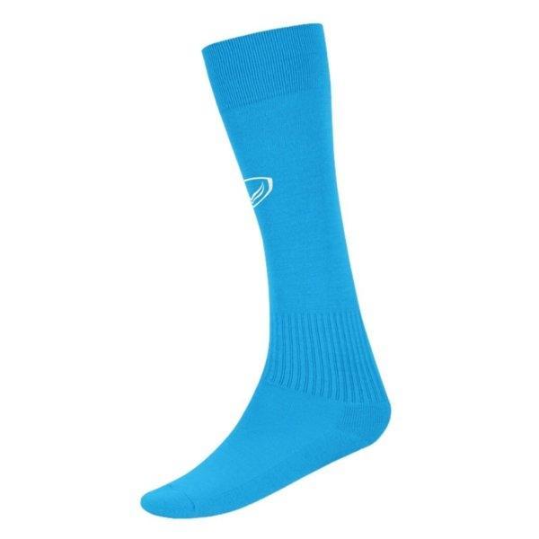 แกรนด์สปอร์ต ถุงเท้ากีฬาฟุตบอลทอลาย(สีฟ้า) รหัส: 025006