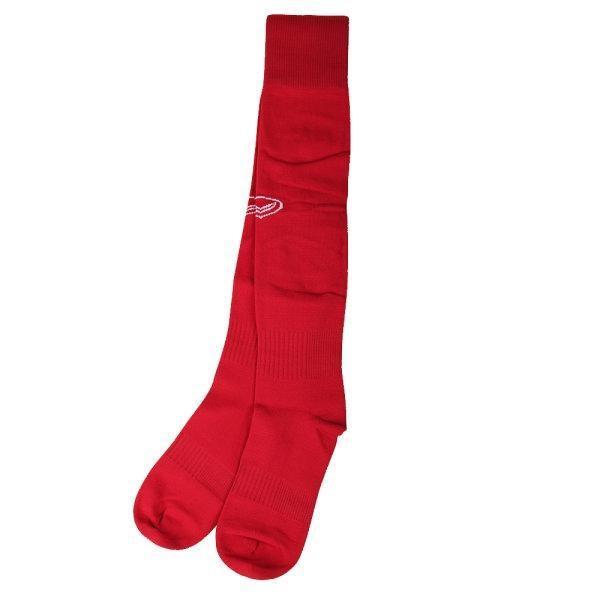 ถุงเท้าฟุตบอลสีล้วน รหัส :025090 (สีแดง)