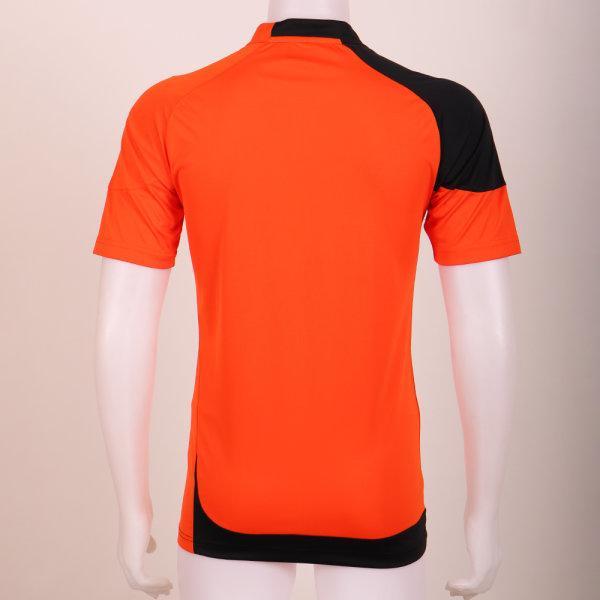 เสื้อประตูฟุตบอล แขนสั้น รหัส :018082 (สีส้ม)