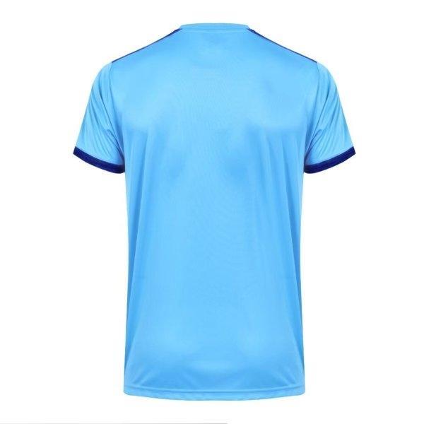 เสื้อกีฬาฟุตบอลตัดต่อรหัส: 011472 (สีฟ้า)