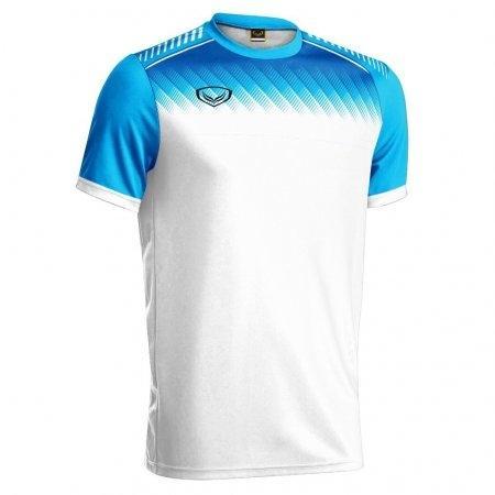 เสื้อกีฬาฟุตบอล แกรนด์สปอร์ต(สีขาว) รหัส :011456