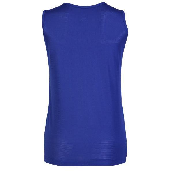 เสื้อวิ่งหญิงพิมพ์ลายด้านหน้า รหัส : 017147 (สีน้ำเงิน)