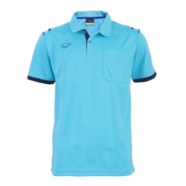 เสื้อโปโลชายแกรนด์สปอร์ต รหัสสินค้า : 012567 (สีฟ้า)