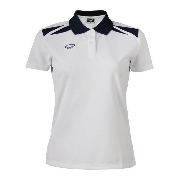 เสื้อคอปกหญิง แกรนด์สปอร์ต (สีขาว) รหัส :012694