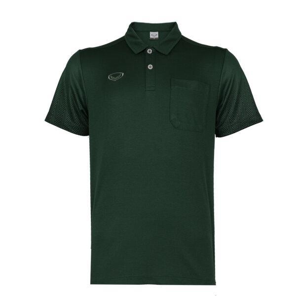 เสื้อโปโลชาย แกรนด์สปอร์ต รหัส : 012584 (สีเขียว)