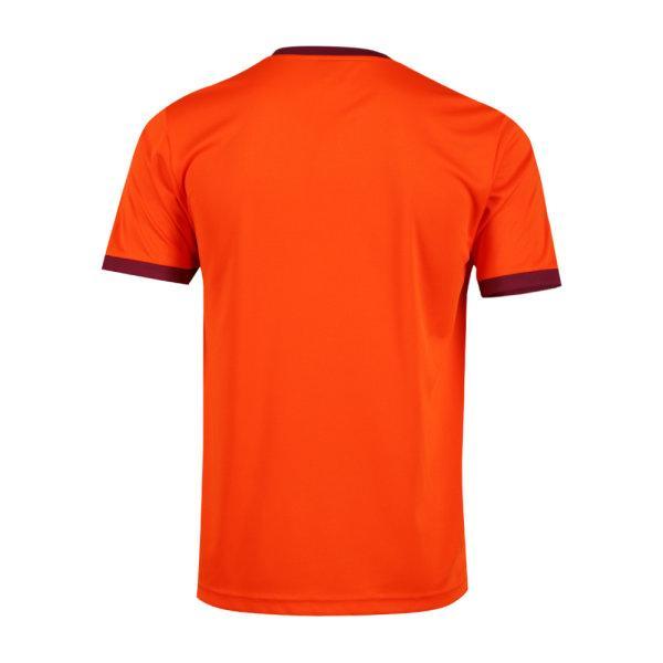 เสื้อกีฬาฟุตบอลพิมพ์ลาย  รหัส :011549 (สีส้ม)