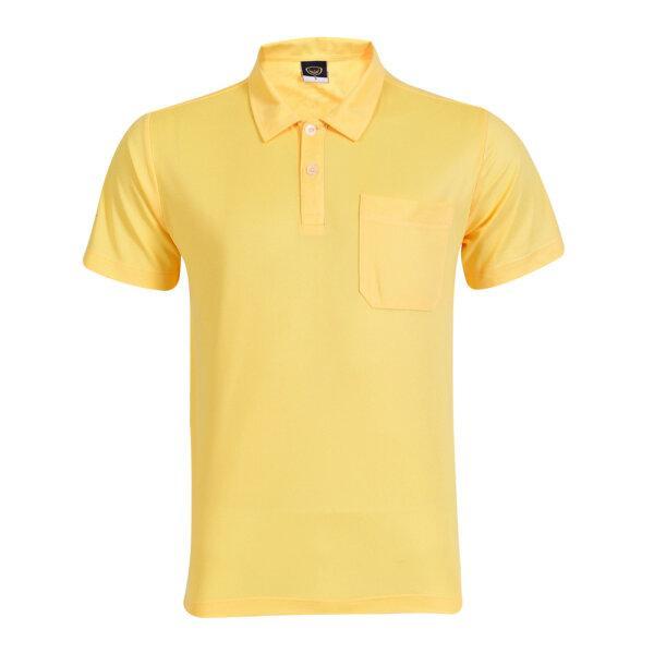 เสื้อโปโลสีเหลืองแกรนด์สปอร์ต รหัส :012233