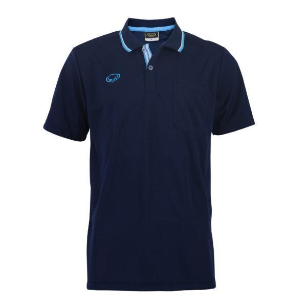 เสื้อโปโลชายแกรนด์สปอร์ต รหัส :012569 (สีกรม)