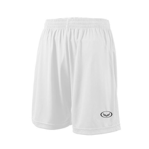 กางเกงฟุตบอลสีล้วน แกรนด์สปอร์ต (สีขาว) รหัส : 001516