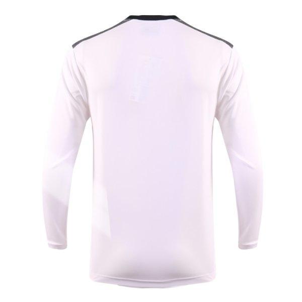 เสื้อกีฬาฟุตบอลแขนยาว แกรนด์สปอร์ต รหัส : 011475 (สีขาว)
