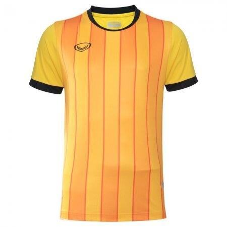 เสื้อฟุตบอล พิมพ์ลาย ปี 2018(สีเหลือง) รหัส 011445