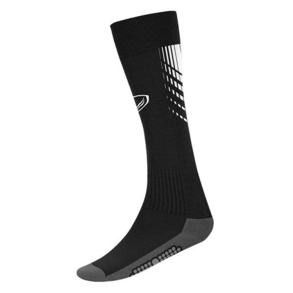 แกรนด์สปอร์ต ถุงเท้ากีฬาฟุตบอลทอลาย (สีดำ) รหัส:025130