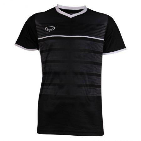 เสื้อกีฬาฟุตบอลพิมพ์ลาย รหัส: 038275 (สีดำ)