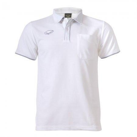 เสื้อโปโลชายแกรนด์สปอร์ต (สีขาว)รหัสสินค้า : 012562