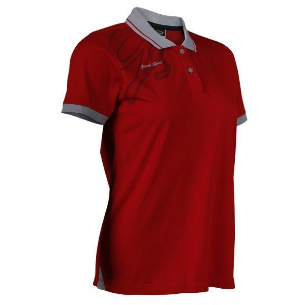 แกรนด์สปอร์ตเสื้อโปโลหญิง (สีแดง) รหัส:012738
