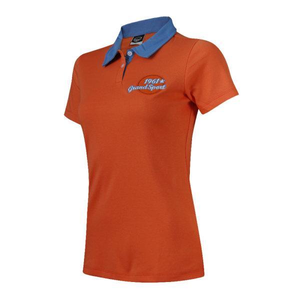 เสื้อคอปกแกรนด์สปอร์ต (สีส้ม) รหัส : 028780