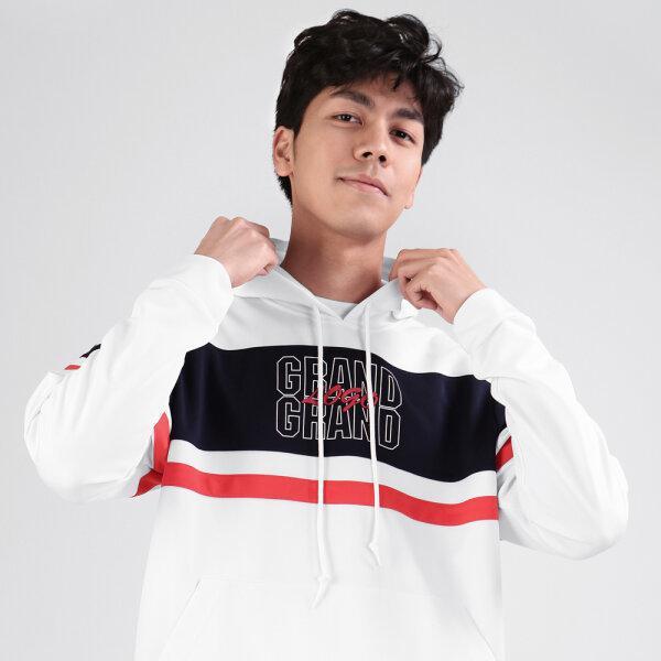 เสื้อวอร์มแกรนด์สปอร์ต รหัส : 016905 (สีขาวกรม)