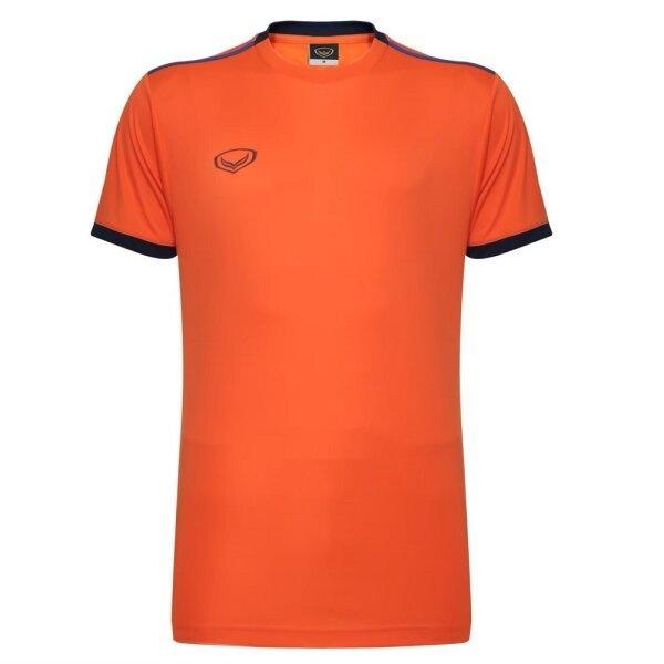 เสื้อกีฬาฟุตบอลตัดต่อ แกรนด์สปอร์ต  รหัสสินค้า : 011541 (สีส้ม)