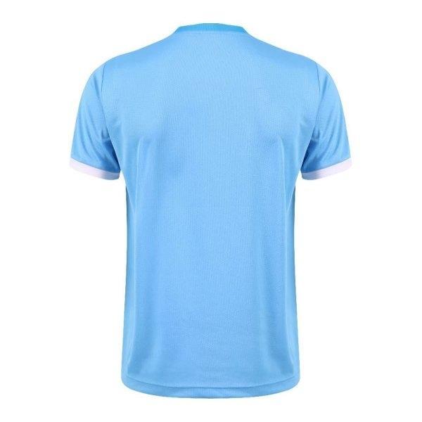 เสื้อกีฬาฟุตบอลตัดต่อ แกรนด์สปอร์ต รหัส : 011542 (สีฟ้า)