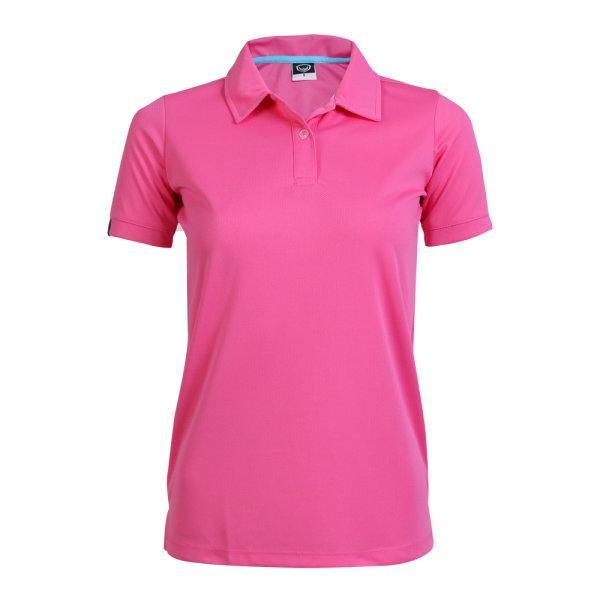 เสื้อโปโลหญิงแกรนด์สปอร์ต รหัสสินค้า : 012772 (สีชมพู)