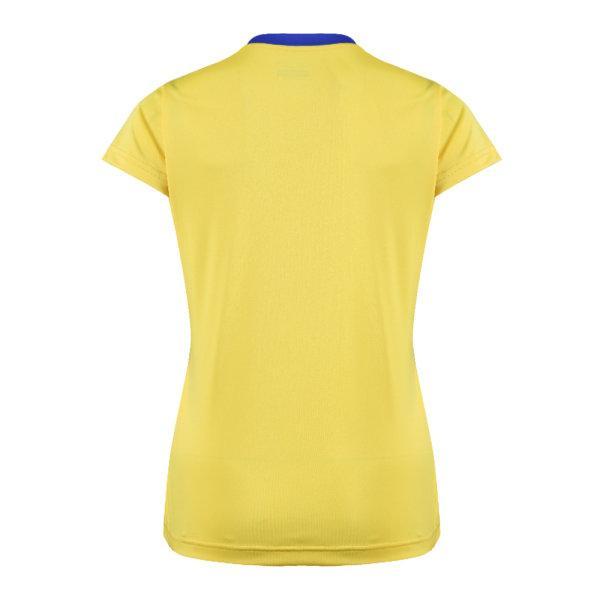 เสื้อกีฬาหญิงแกรนด์สปอร์ต(สีเหลือง)รหัส:014280