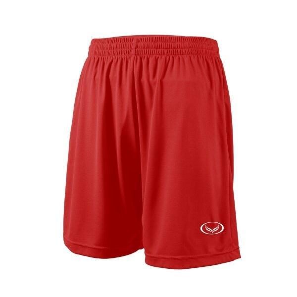 กางเกงฟุตบอลสีล้วน แกรนด์สปอร์ต (สีแดง) รหัส : 001516