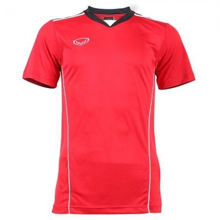 เสื้อกีฬาชายตัดต่อแกรนด์สปอร์ต(สีแดง) รหัส: 014218