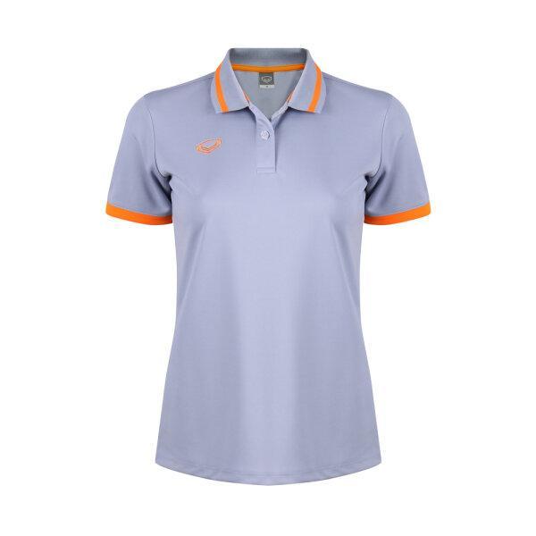 เสื้อโปโลหญิงแกรนด์สปอร์ต รหัสสินค้า : 012785 (สีเทา)