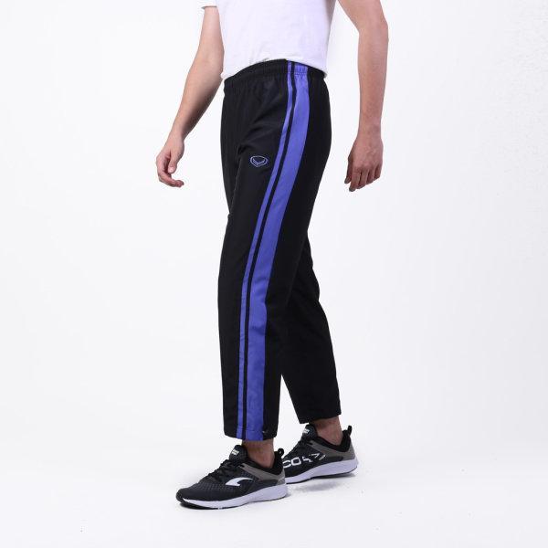 กางเกงแทร็คสูทแกรนด์สปอร์ต (สีดำม่วง) รหัส: 010207
