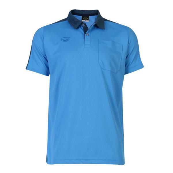 เสื้อโปโลชายแกรนด์สปอร์ต (สีฟ้า)รหัสสินค้า : 012573