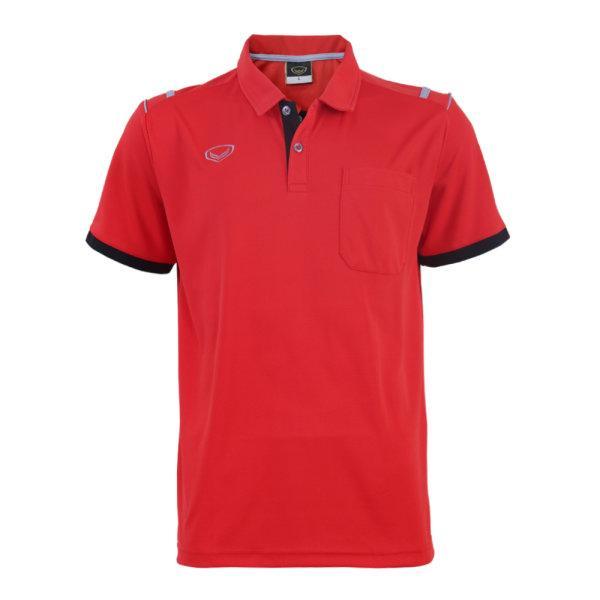 เสื้อโปโลชายแกรนด์สปอร์ต รหัสสินค้า : 012567 (สีแดง)