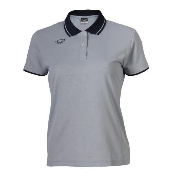 เสื้อโปโลหญิงแกรนด์สปอร์ต(สีเทา) รหัส : 012693