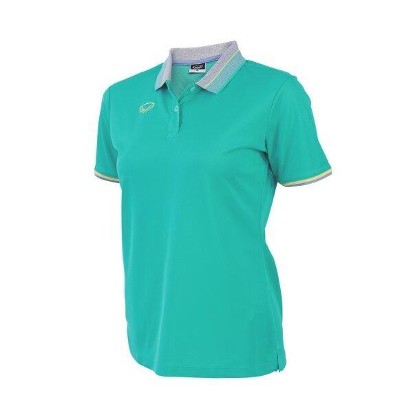 เสื้อโปโลหญิงสีเขียว แกรนด์สปอร์ต รหัส :012768