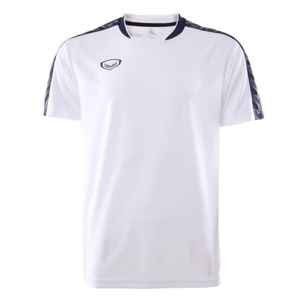 เสื้อคอปีนพิมพ์บ่า แกรนด์สปอร์ต (โอลิมปิก 2020) รหัส : 072049 (สีขาว)